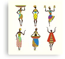 African Culture Canvas Print