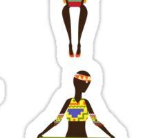 African Culture Sticker