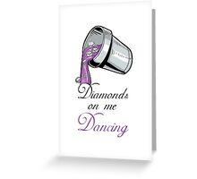 "Drake and Future ""Diamonds On Me Dancing"" #Drake #Future #DirtySprite Greeting Card"