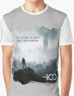 The 100 - More Than Survival Graphic T-Shirt