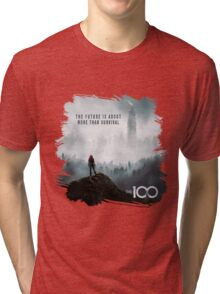 The 100 - More Than Survival Tri-blend T-Shirt