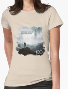 The 100 - More Than Survival Womens Fitted T-Shirt