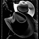 """""""HATS, Cowboy Style""""... prints and products by © Bob Hall"""