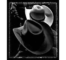 """""""HATS, Cowboy Style""""... prints and products Photographic Print"""