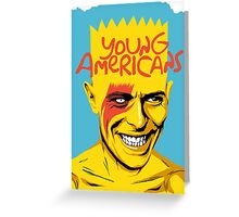 Young Americans Greeting Card