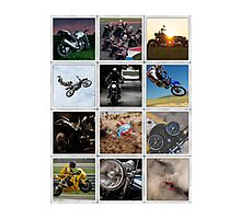 Motorcycle Poster Photographic Print