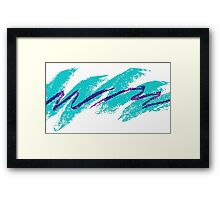 90s Solo Cup Design Framed Print