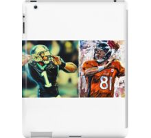 Super Bowl 50 Epic Fan Merchandise  iPad Case/Skin