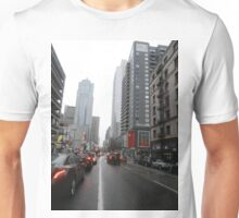 La streets of Downtown Unisex T-Shirt