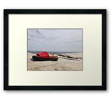 Summer Sandals Framed Print