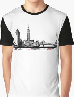 New York City skyline elegant Graphic T-Shirt