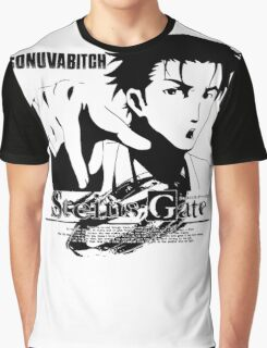 Steins;Gate SONUVABITCH! Graphic T-Shirt