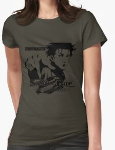 Steins;Gate SONUVABITCH! Womens Fitted T-Shirt