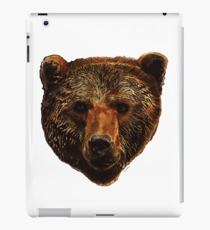 Grizzly Bear iPad Case/Skin