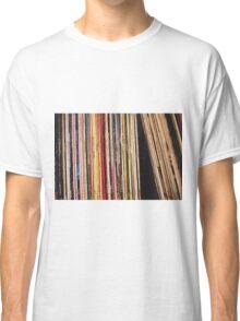 Shelved Vinyl Records Classic T-Shirt