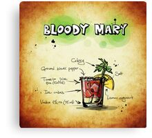 Bloody Mary. Canvas Print