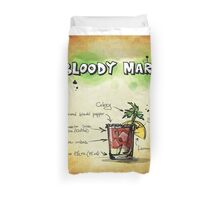 Bloody Mary. Duvet Cover