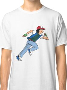 Ash Ketchum Running Classic T-Shirt