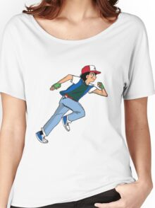 Ash Ketchum Running Women's Relaxed Fit T-Shirt