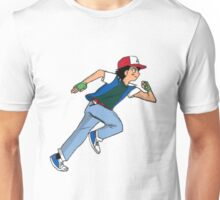 Ash Ketchum Running Unisex T-Shirt