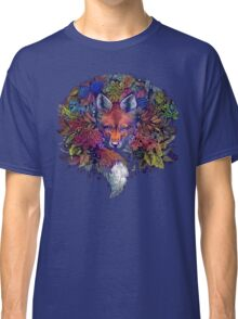 Rainbow Hiding Fox Classic T-Shirt