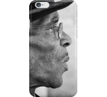 Smoking gentleman iPhone Case/Skin