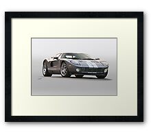 2006 Ford Production GT Framed Print