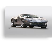 2006 Ford Production GT Canvas Print