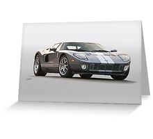2006 Ford Production GT Greeting Card