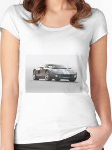 2006 Ford Production GT Women's Fitted Scoop T-Shirt