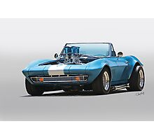1965 Corvette 'Fuel Injected' Convertible Photographic Print