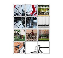 Bicycle Poster Photographic Print