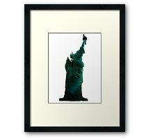 Cloverfield - Statue of Liberty Framed Print