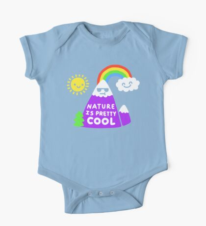 Nature Is Pretty Cool One Piece - Short Sleeve
