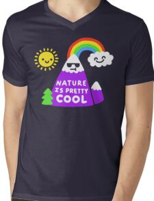 Nature Is Pretty Cool Mens V-Neck T-Shirt