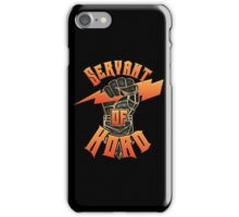 D&D Tee - Servant of Kord iPhone Case/Skin