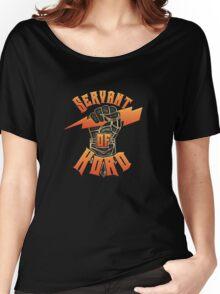 D&D Tee - Servant of Kord Women's Relaxed Fit T-Shirt