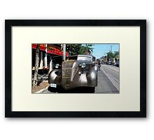 Late 1930s Limo Framed Print