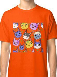 Animal Crossing Cats Classic T-Shirt
