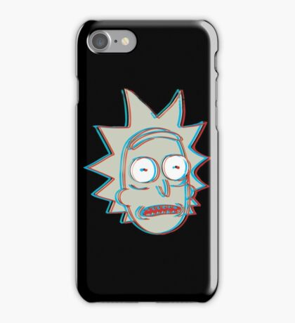 Rick and Morty: 3D Rick Version 2 iPhone Case/Skin