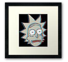 Rick and Morty: 3D Rick Version 2 Framed Print