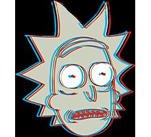 Rick and Morty: 3D Rick Version 2 Photographic Print