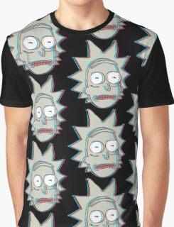 Rick and Morty: 3D Rick Version 2 Graphic T-Shirt