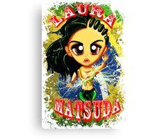 Chibi Laura Matsuda  Canvas Print