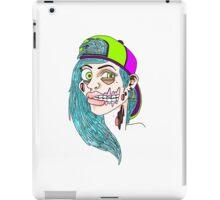 Zombie Skater Girl iPad Case/Skin