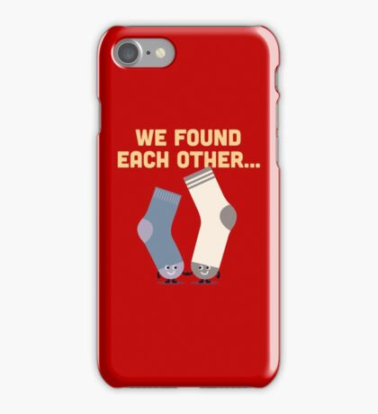 Character Building - Valentines Socks iPhone Case/Skin