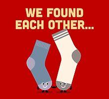 Character Building - Valentines Socks by SevenHundred