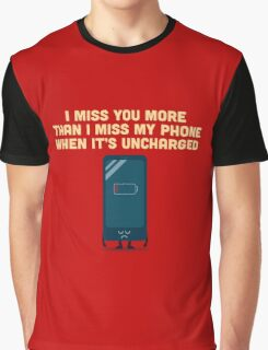 Character Building - Uncharged valentines Graphic T-Shirt