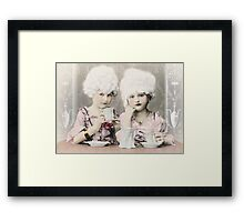 Tea Party at the Palace Framed Print
