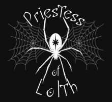 D&D Tee - Priestess of Lolth by KennefRiggles
